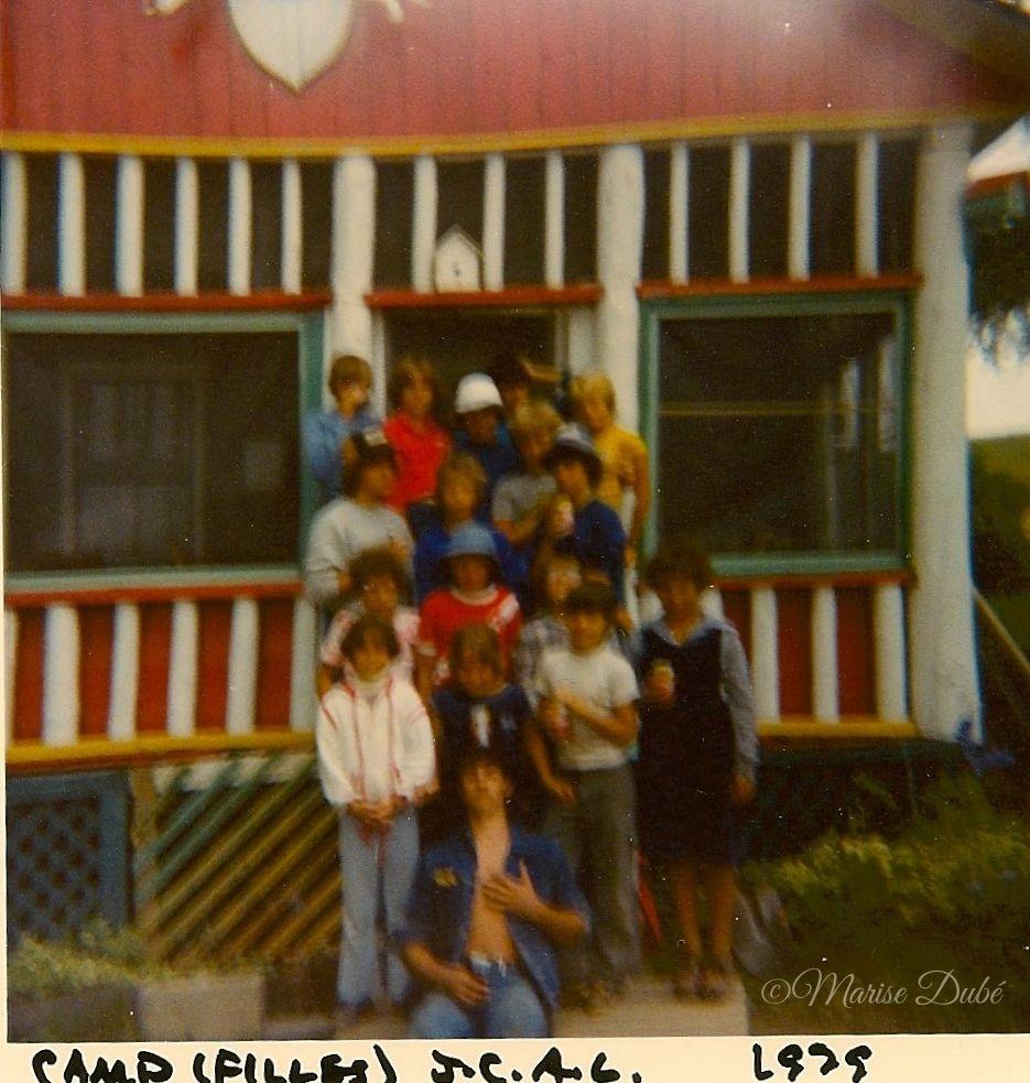 Camp Filles Mont Assomption Summer Camp Girls 1979