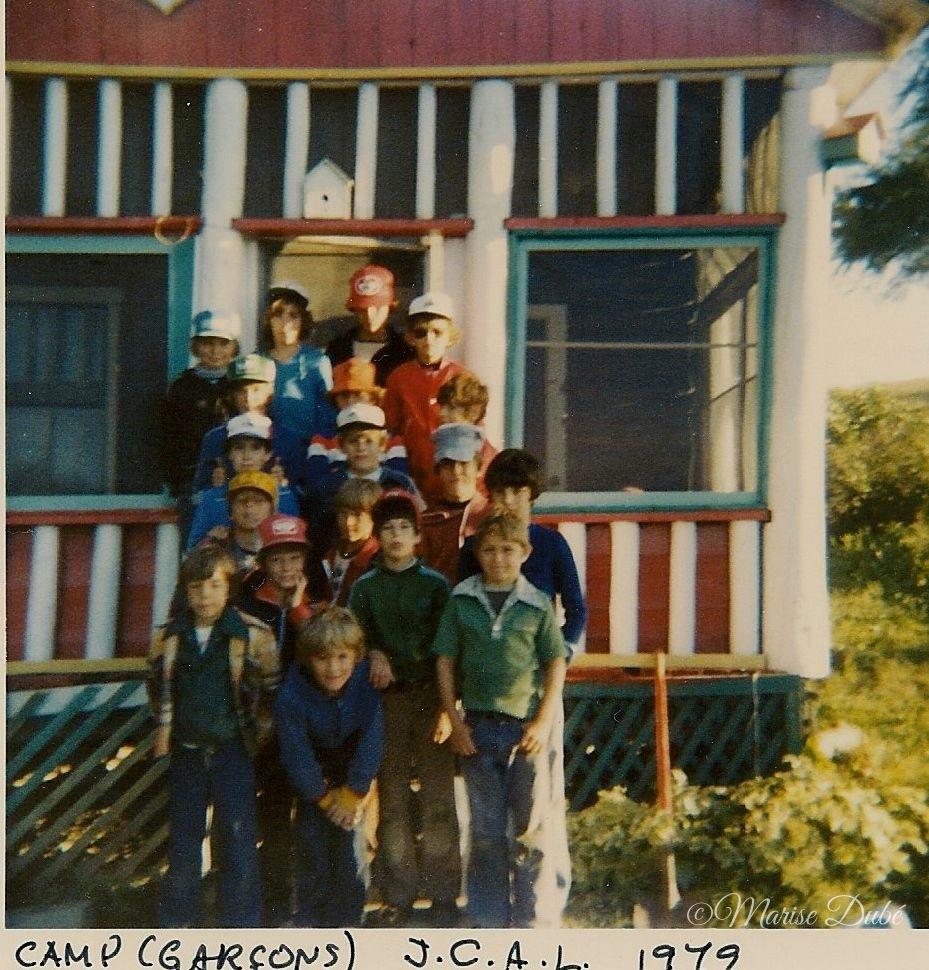 Camp Garçons Mont Assomption Summer Camp Boys 1979