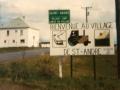 Pancarte Entrée Ouest / Western Entrance Sign 1979