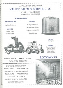 Annonce Valley Sales & Service Ad